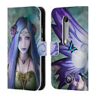 OFFICIAL ANNE STOKES FAIRIES LEATHER BOOK WALLET CASE COVER FOR MOTOROLA PHONES