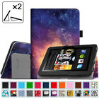 "Fit Folio Leather Case Cover For Kindle Fire HD 7"" 2nd Gen 2012 Auto Sleep/Wake"