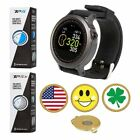 GolfBuddy WTX Golf GPS/Rangefinder Watch+ Taylormade TP5 or TP5X + Ball Marker