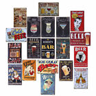 Vintage Retro Wine cover Metal Tin Sign Home Plate Wall Decor Bar Pub Club EC C8