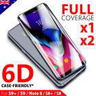 Galaxy Note 8 S8 Plus 5D Full Cover Tempered Glass Screen Protector for Samsung