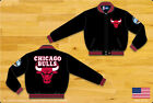 NBA JH Design Chicago Bulls Wool Jacket made in USA New Handmade Black new