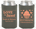 Charcoal Gray Wedding Koozies Koozie Favors Gift Ideas Decorations Gifts (587)