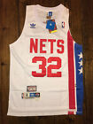 Julius Erving 32 New York Nets Hardwood Classic Throwback Swingman Jersey White