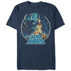 Star Wars Classic Scene Circle Mens Graphic T Shirt $25.99 USD on eBay