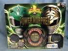 Mighty Morphin Power Rangers LEGACY POWER MORPHER Green / White Ranger 1 Medal