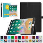 For iPad Pro 10.5'' Case Folio Stand Cover & Glass Screen Pr