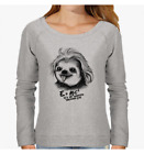 FELPA DONNA SLOTH EINSTAIN CUTE FUNNY SWEETIES ANIMAL NEMIMAKEIT NM0090A PACDESI