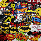 patch adam - BATMAN / SUPERMAN / DC COMICS - Iron-On Patch Comic Series Collection - NEW