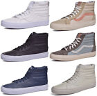Vans Sk8 Hi Premium Leather Skateboard Shoes Choose Color & Size