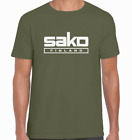 SAKO LOGO T-Shirt  Shotgun/Firearm/Hunting/Shooting