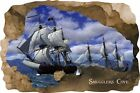 Huge 3D Smugglers Cove Pirate Cave View Wall Stickers Mural  Decal Film 29