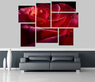 Red Rose Flowers Removable Self Adhesive Wall Picture Poster 1244