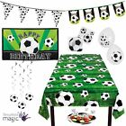 Football Soccer  Party Decoration Partyware Tableware Napkins Bunting Balloons