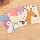 4pcs Mini Cute Journal Diary Notebook Lined Paper Vintage Notepad For Kids XXF