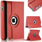 360 Leather Rotate Case  Stand Cover For Ipad Air1/2, 2/3/4,mini, Pro 9.7, 12.9'