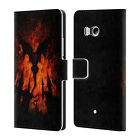 OFFICIAL CHRISTOS KARAPANOS HORROR 3 LEATHER BOOK WALLET CASE FOR HTC PHONES 1