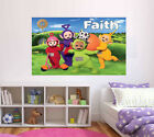 Personalised Glossy Kids Teletubbies Poster - Wall Decoration -