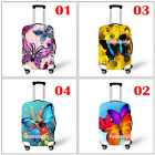 """Multicolor Butterfly Elastic Luggage Suitcase Cover Dustproof Fits L M S 18""""-28"""""""