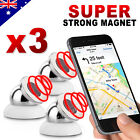 3X Universal Magnetic Ball Magnet Car Holder Mount GPS iPhone 8 X 7 6 Samsung S9