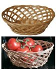 OVAL WEAVE WICKER WILLOW STORAGE FRUIT BASKET MAKE YOUR OWN HAMPER GIFT XMAS