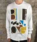 Billabong Volt Tips Long Sleeve T-Shirt Brand New in White Size L