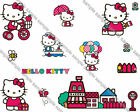Hello Kitty 2 Iron On Transfer