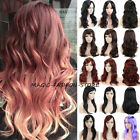 cheap full hd monitor - Cheap Multicolor Women Full Wig Long Curly Wavy Costume Cosplay Wigs Brown US gh
