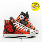 Metallica St.Anger Custom shoes Converse All Star hi top rock sneakers All Sizes
