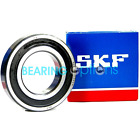 SKF 6300 - 6309 2RS Series Rubber Sealed Genuine SKF Ball Bearings
