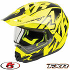 2018 FXR Torque X Core Snowmobile Helmet With Electric Shield Black/Hi-Vis XL