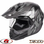 2018 FXR Torque X Core Snowmobile Helmet With Electric Shield Black Ops - MD