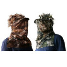 3D Woodland Camouflage Realtree Cap with Face Mask Hunting Sneaky Cap Ghilie Hat