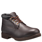TIMBERLAND 22049 MEN'S DK.BROWN LEATHER WATERPROOF CHUKKA BOOTS