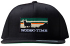 Dale Brisby Sunset Rodeo Time Snapback Cap - Black
