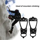 Ice Climbing Crampons 8 Studs Anti-Skid Ice Snow Field Shoes Spikes Grips PQ
