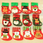 HOT!Christmas Party Santa Socks Cute Xmas Tree Hanging Ornaments Festival Decor