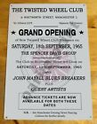 Northern Soul Metal Sign Plaque, Twisted Wheel Sign Grand Opening, Scooter sign