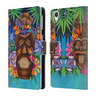 DENYSE KLETTE FEATHERS, FINS, AND FUR LEATHER BOOK WALLET CASE FOR HTC PHONES 2