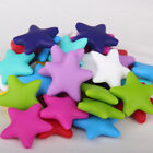 Star Silicone Teething Beads DIY Baby Nursing Chewable Teether Necklace Making