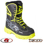 2018 FXR XCross Snowmobile Boot Black Orange Hi-vis 6 7 8 9 10 11 12 13 Men's