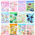 SANRIO KITTY MELODY POCHACCO STAR SNOOPY SUMIKKO A4 SOF NYLON FILE ZIPPER BAG