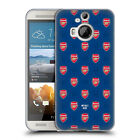 CUSTOM PERSONALISED ARSENAL FC 2017/18 CREST AND LOGO GEL CASE FOR HTC PHONES 2