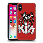 OFFICIAL KISS LYRICS HARD BACK CASE FOR APPLE iPHONE PHONES