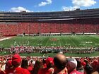 4:Wisconsin Badgers Football vs Maryland-on50-UNDER DECK-Cushion Seat w/Back