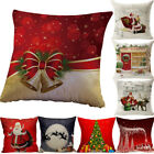 Christmas Car Home House Sofa Bedroom Decorative Cushion Cover Throw Pillow Case