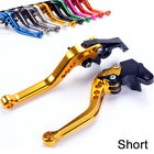 Motorcycle Anodized Short Brake Clutch Levers For TRIUMPH STREET CUP 2017 $20.0 USD