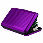 Waterproof Business Aluminum Metal ID Credit Card Wallet Holder Purse PocketCase