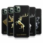 OFFICIAL HBO GAME OF THRONES EMBOSSED SIGILS BACK CASE FOR APPLE iPHONE PHONES