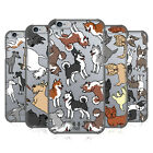 HEAD CASE DESIGNS DOG BREED PATTERNS 6 HARD BACK CASE FOR APPLE iPHONE PHONES